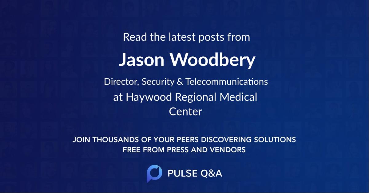 Jason Woodbery