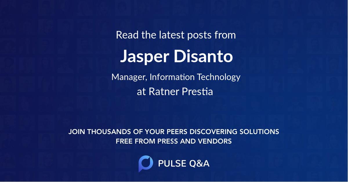 Jasper Disanto