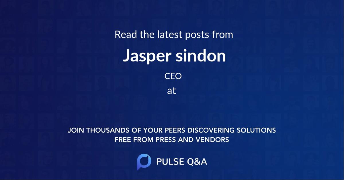Jasper sindon