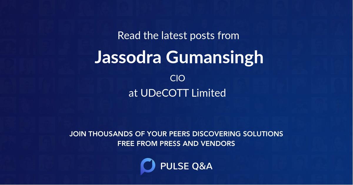 Jassodra Gumansingh