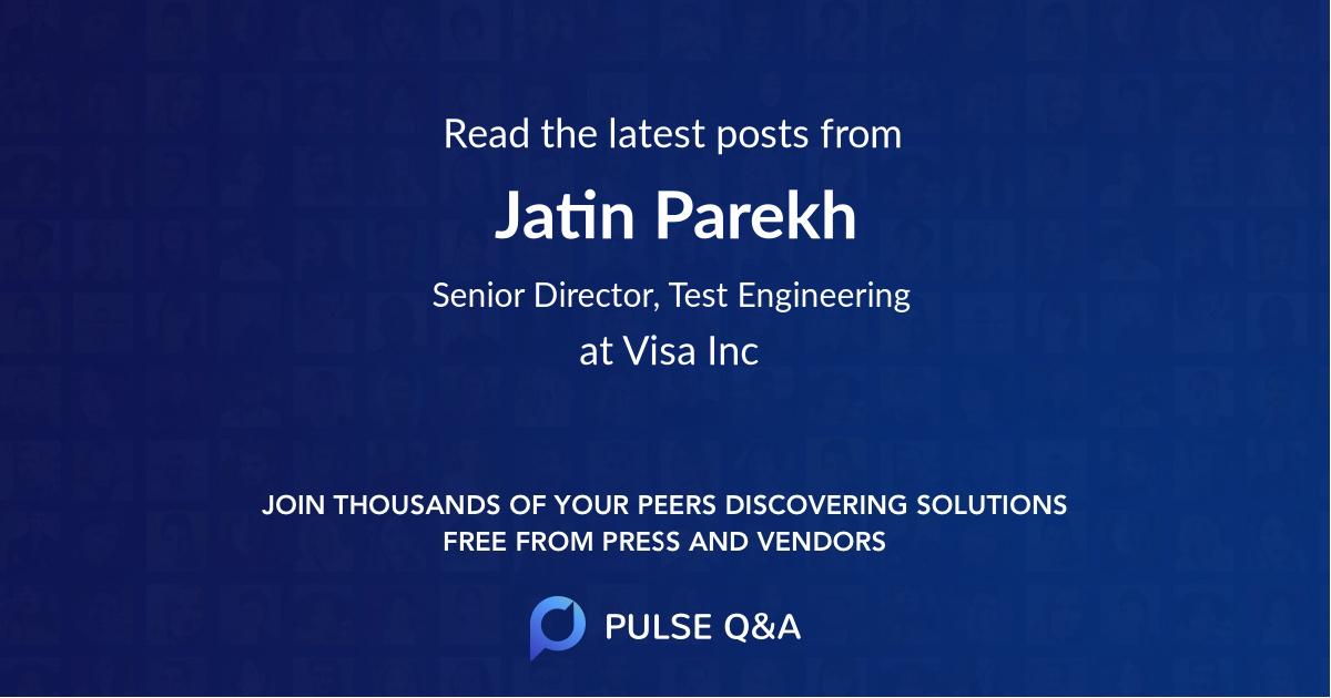 Jatin Parekh