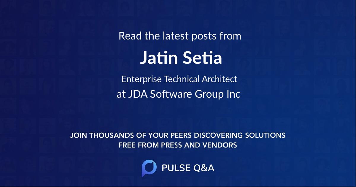 Jatin Setia