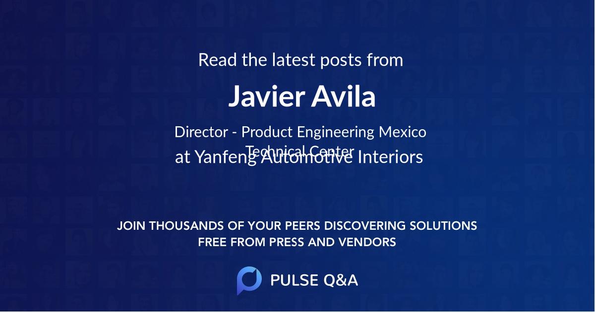 Javier Avila