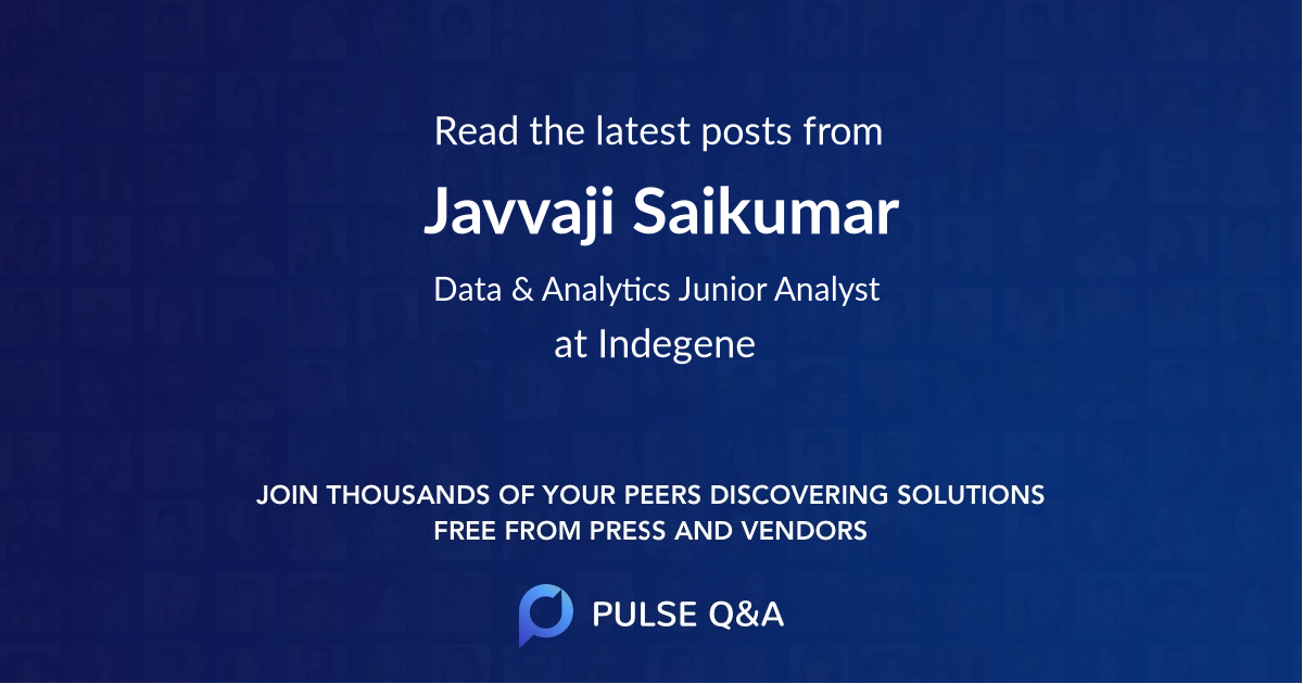 Javvaji Saikumar