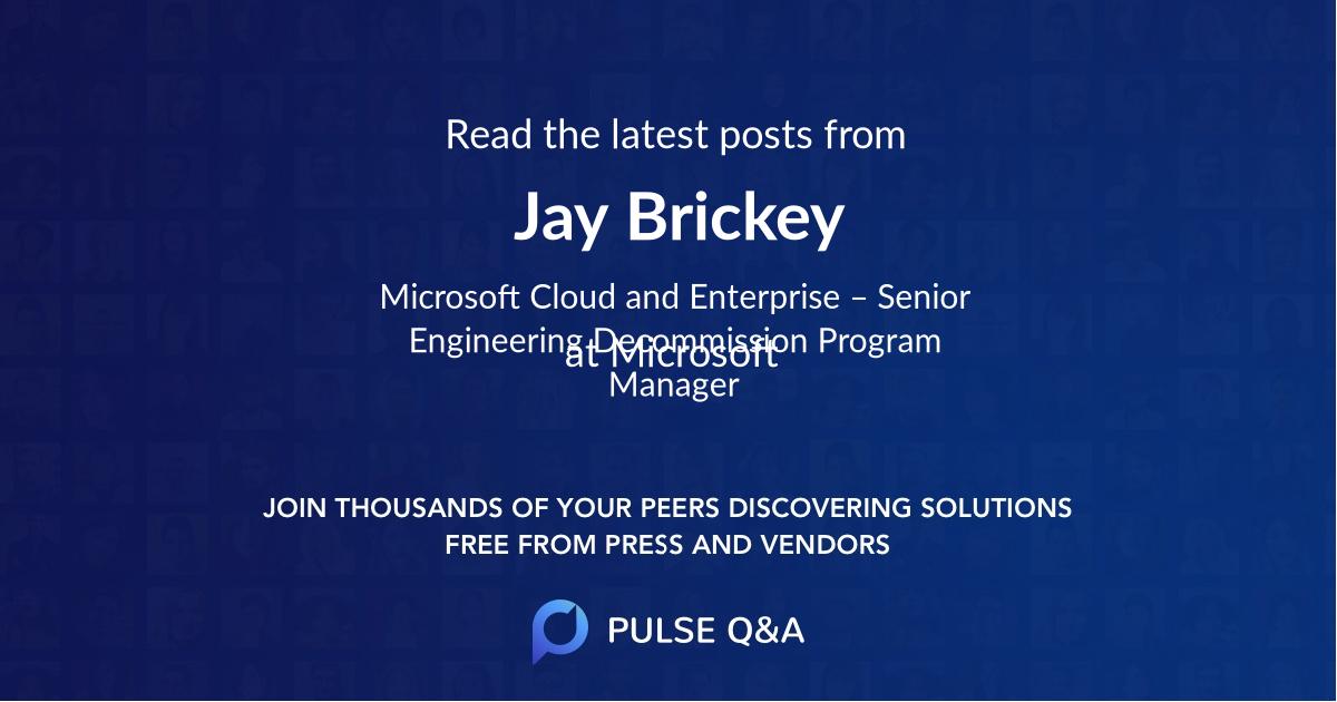 Jay Brickey