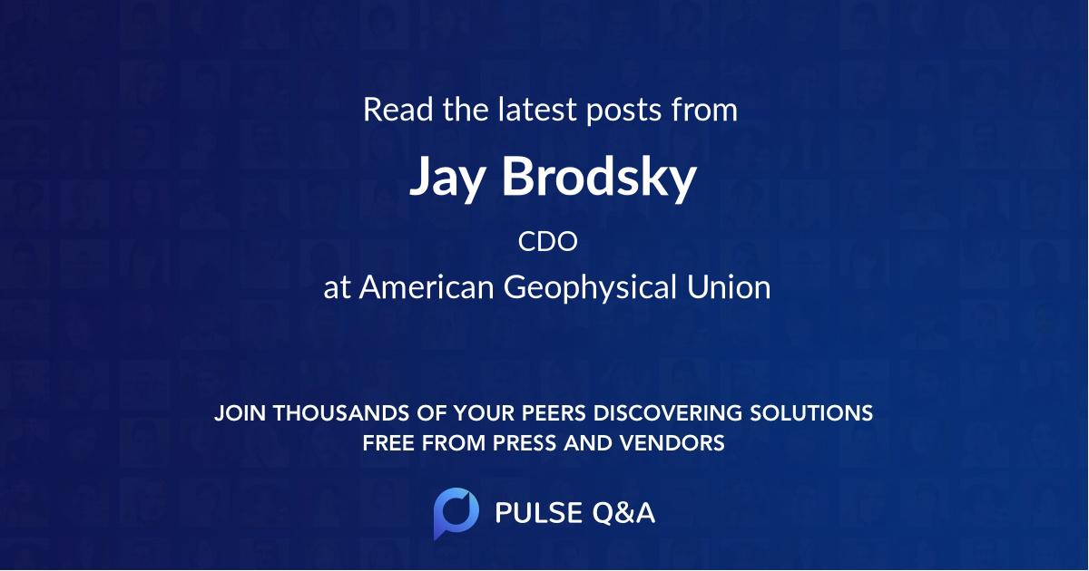 Jay Brodsky
