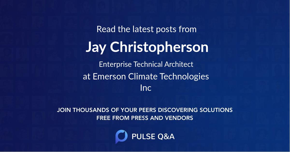Jay Christopherson
