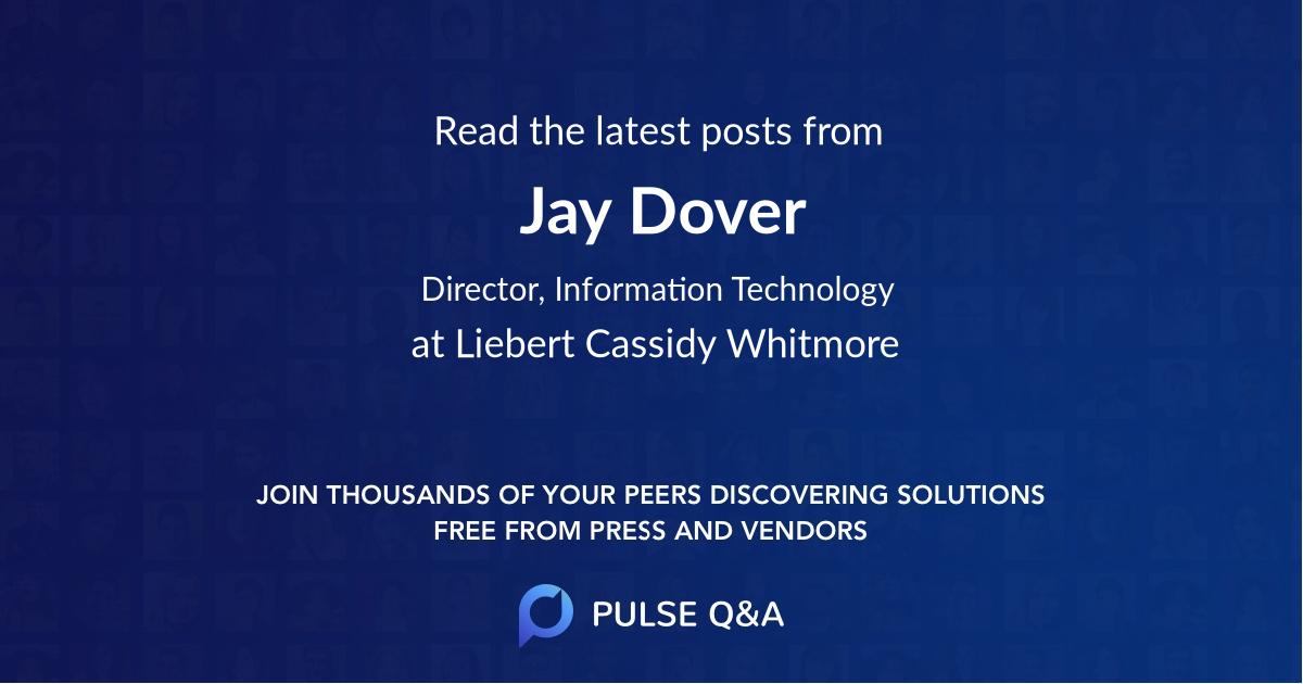 Jay Dover