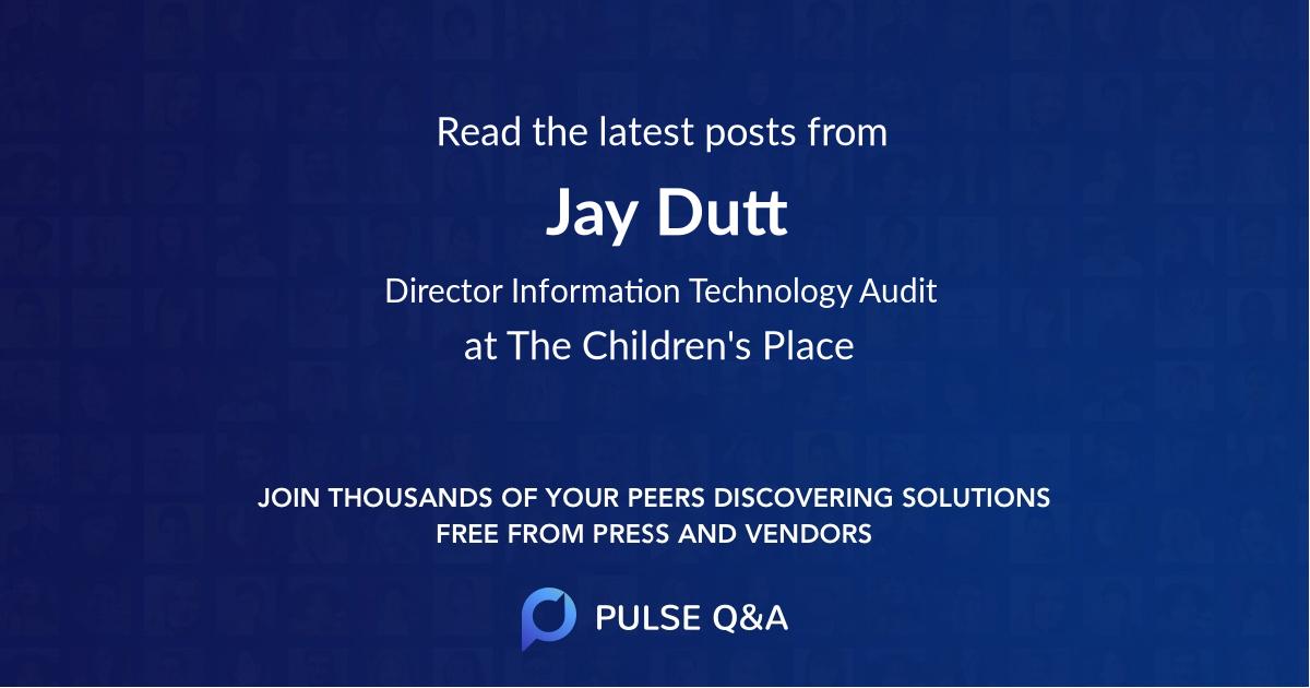 Jay Dutt