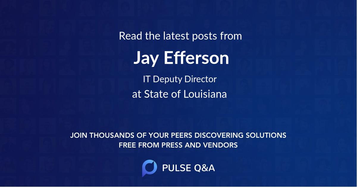 Jay Efferson