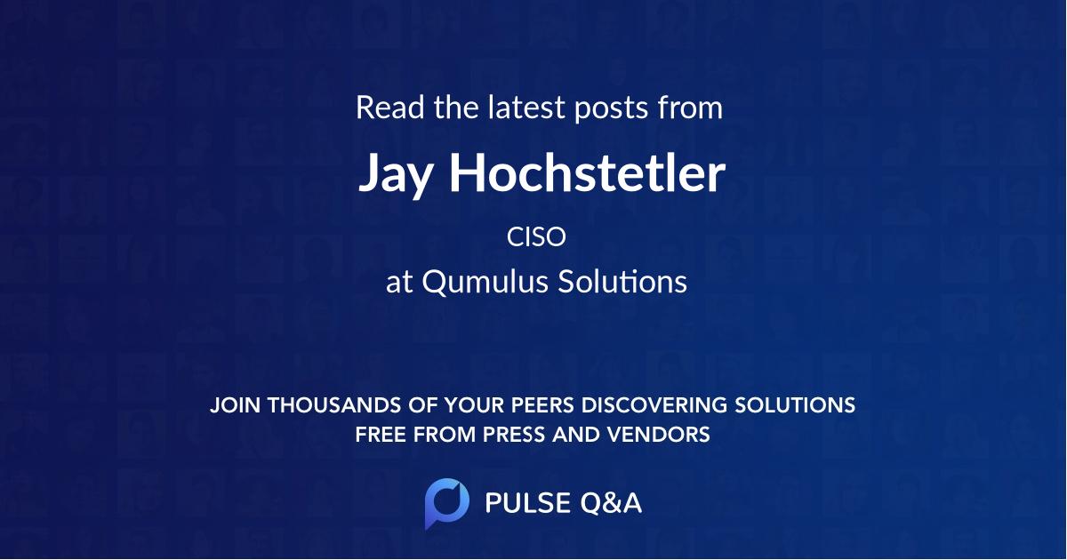 Jay Hochstetler