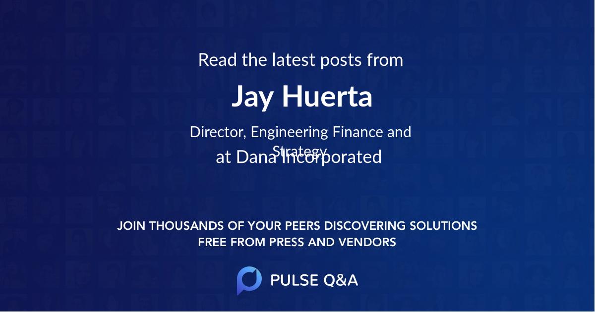 Jay Huerta