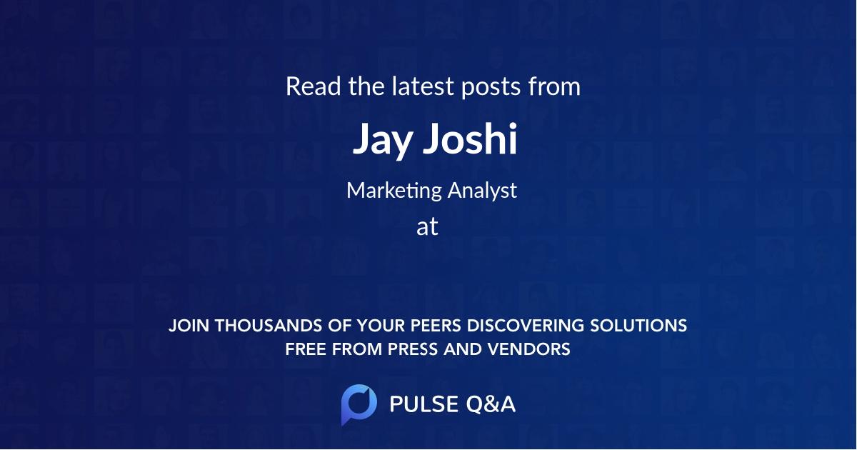 Jay Joshi