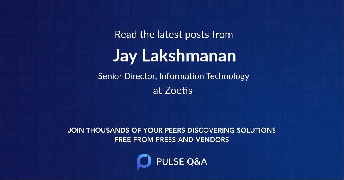 Jay Lakshmanan