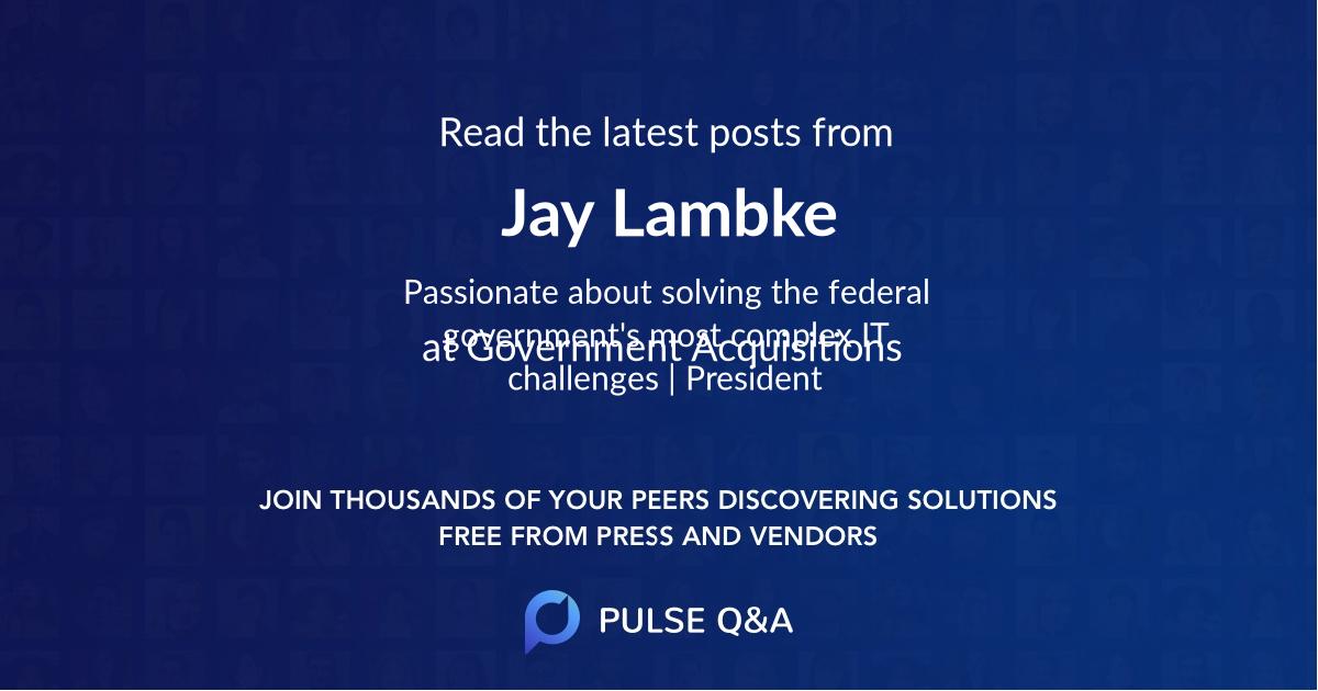 Jay Lambke
