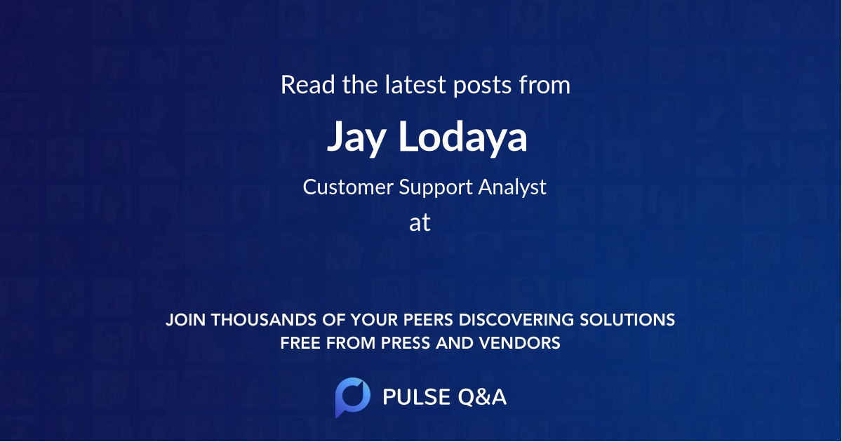 Jay Lodaya