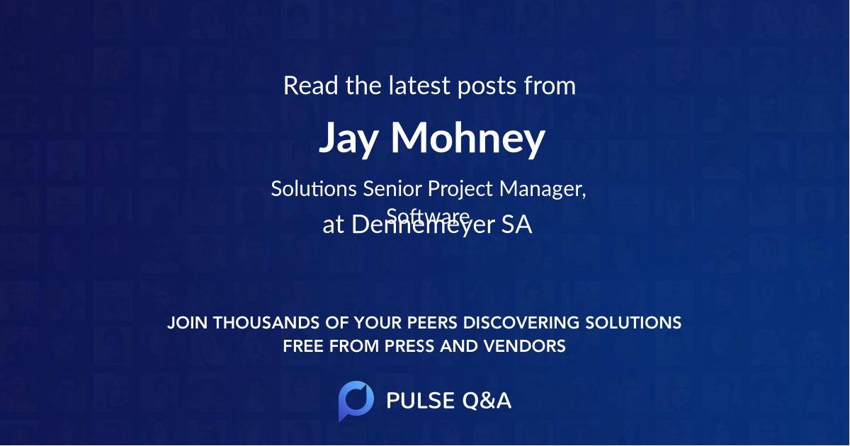 Jay Mohney