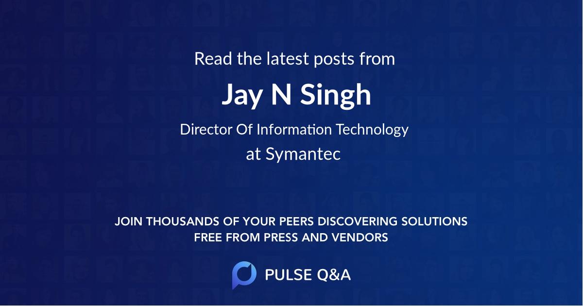 Jay N Singh