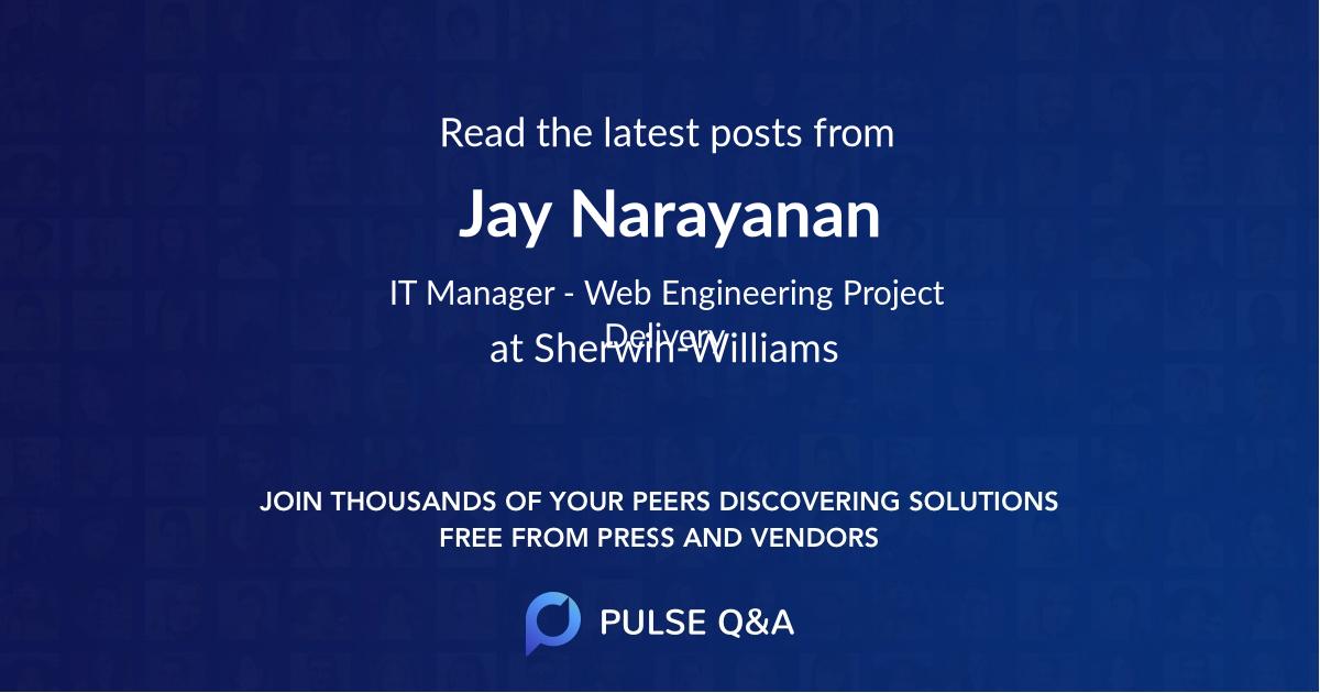 Jay Narayanan