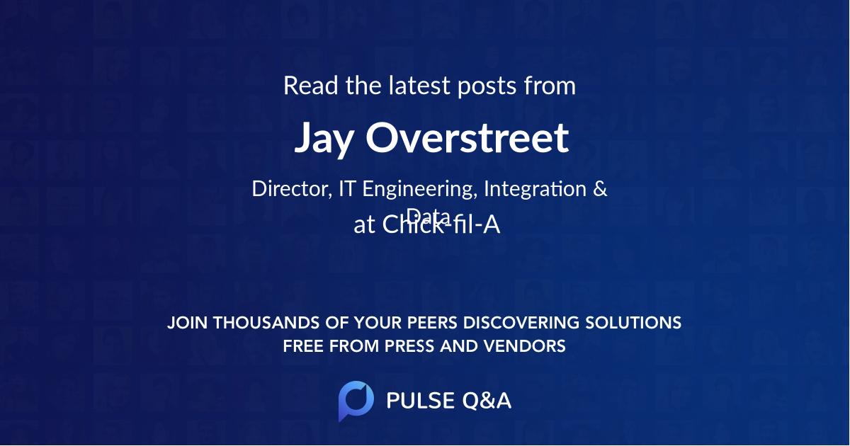 Jay Overstreet