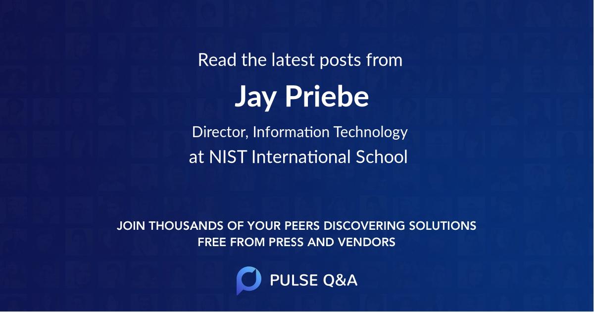 Jay Priebe