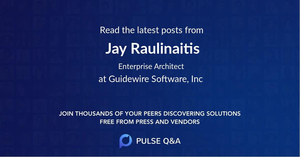 Jay Raulinaitis