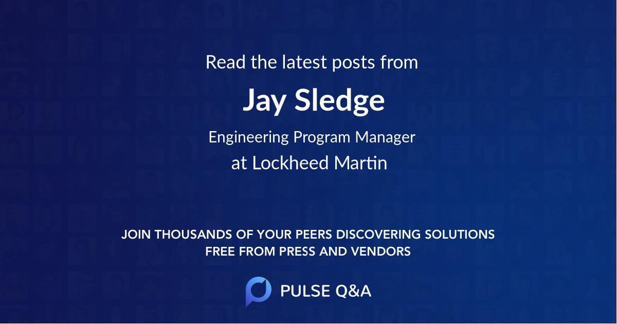 Jay Sledge