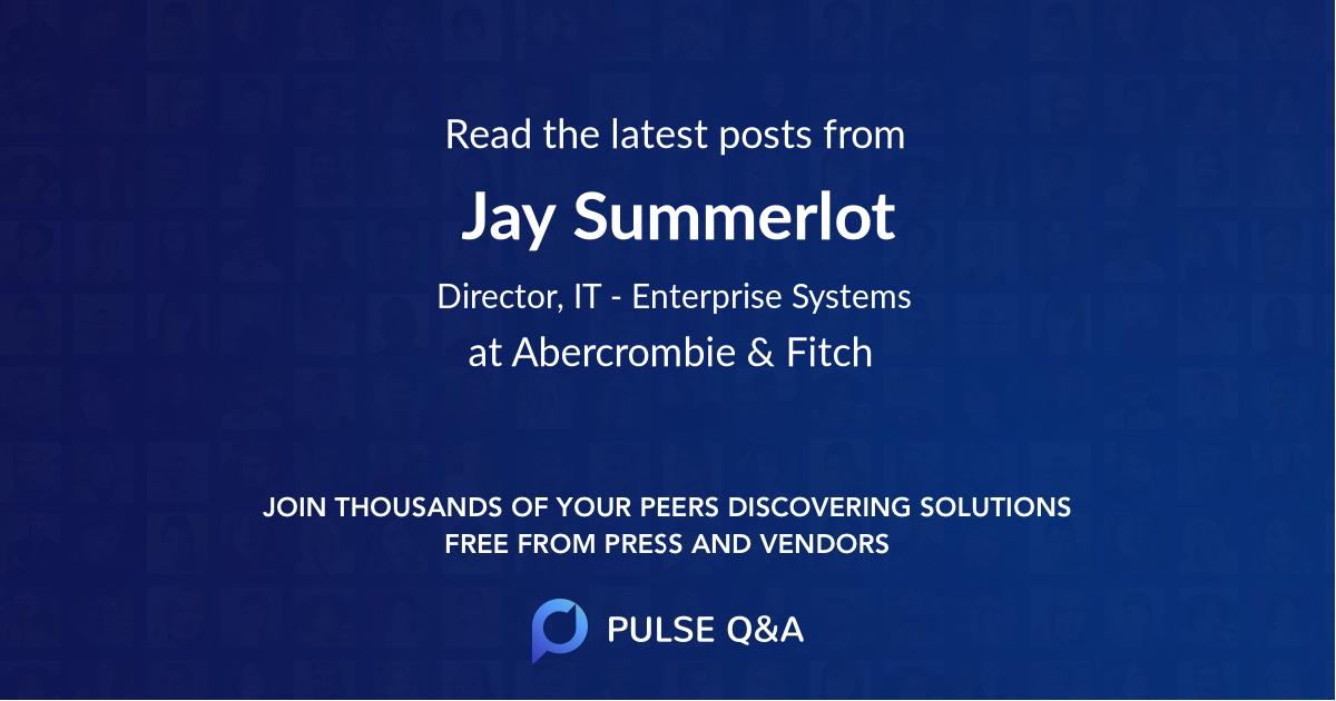 Jay Summerlot