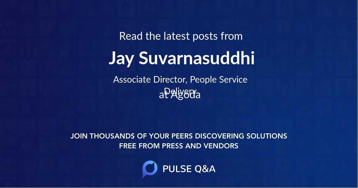 Jay Suvarnasuddhi