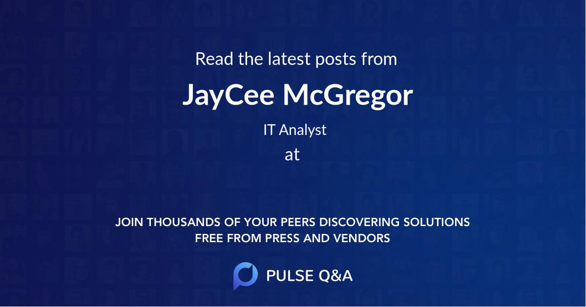 JayCee McGregor