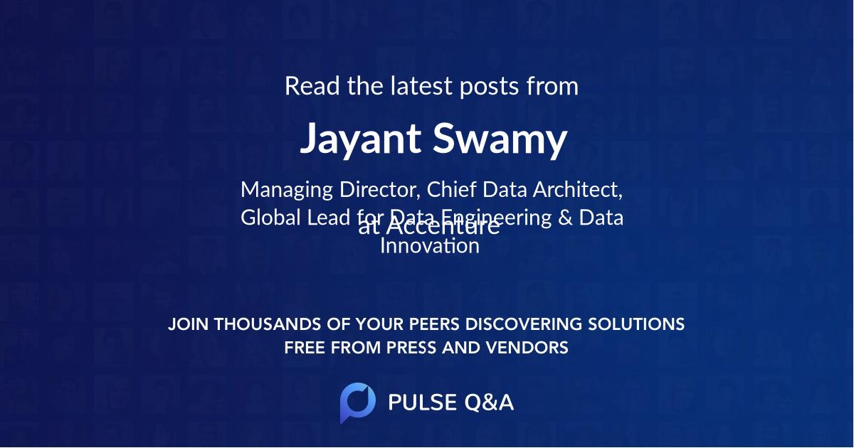 Jayant Swamy