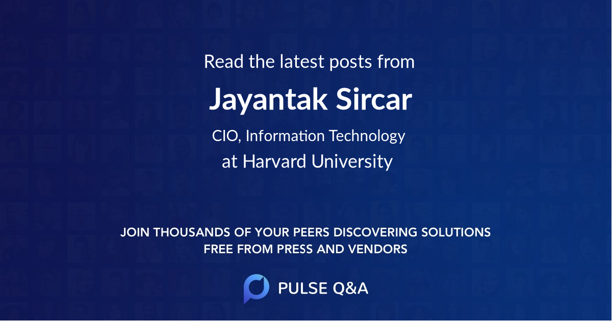 Jayantak Sircar