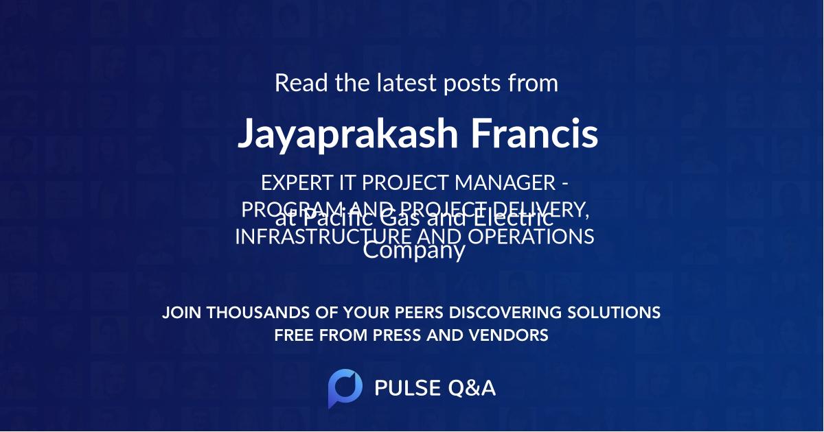 Jayaprakash Francis