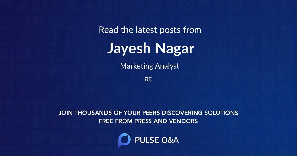 Jayesh Nagar