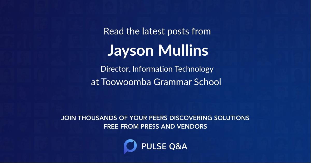 Jayson Mullins