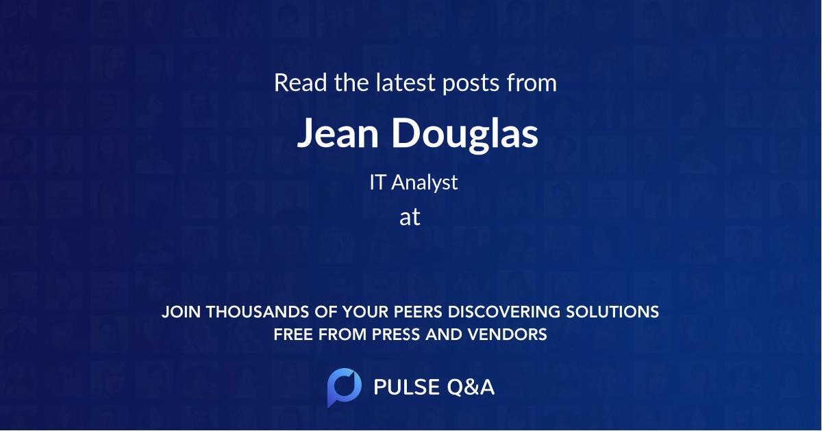 Jean Douglas