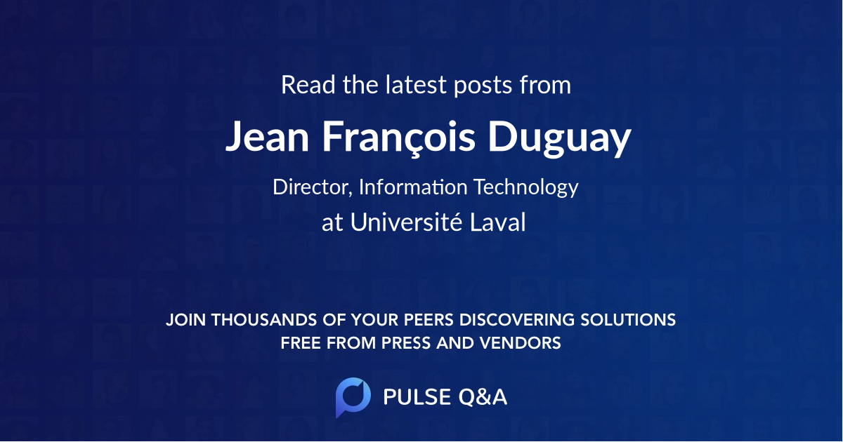 Jean François Duguay