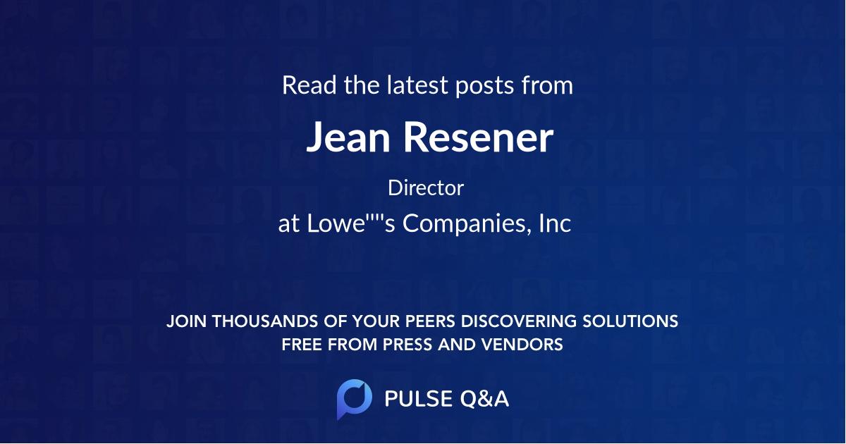 Jean Resener