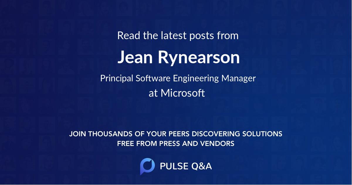 Jean Rynearson