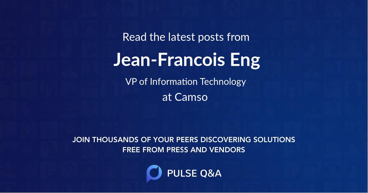 Jean-Francois Eng