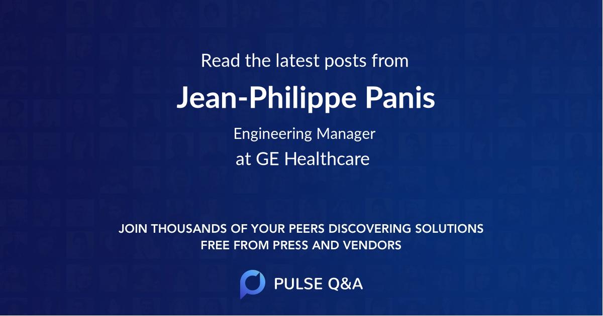 Jean-Philippe Panis