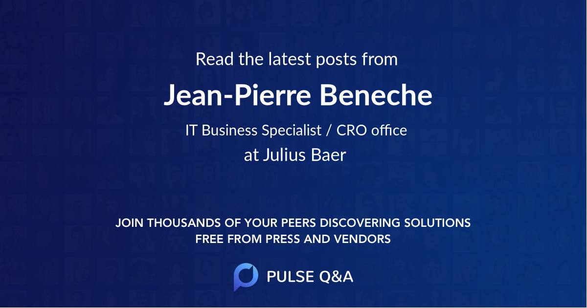 Jean-Pierre Beneche