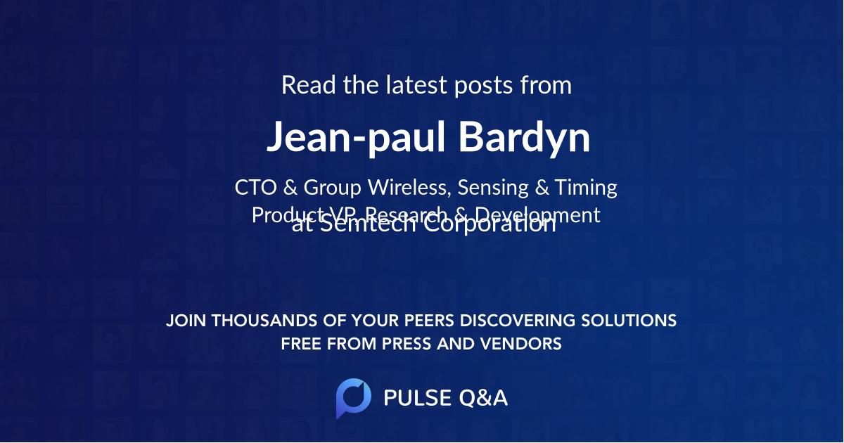 Jean-paul Bardyn