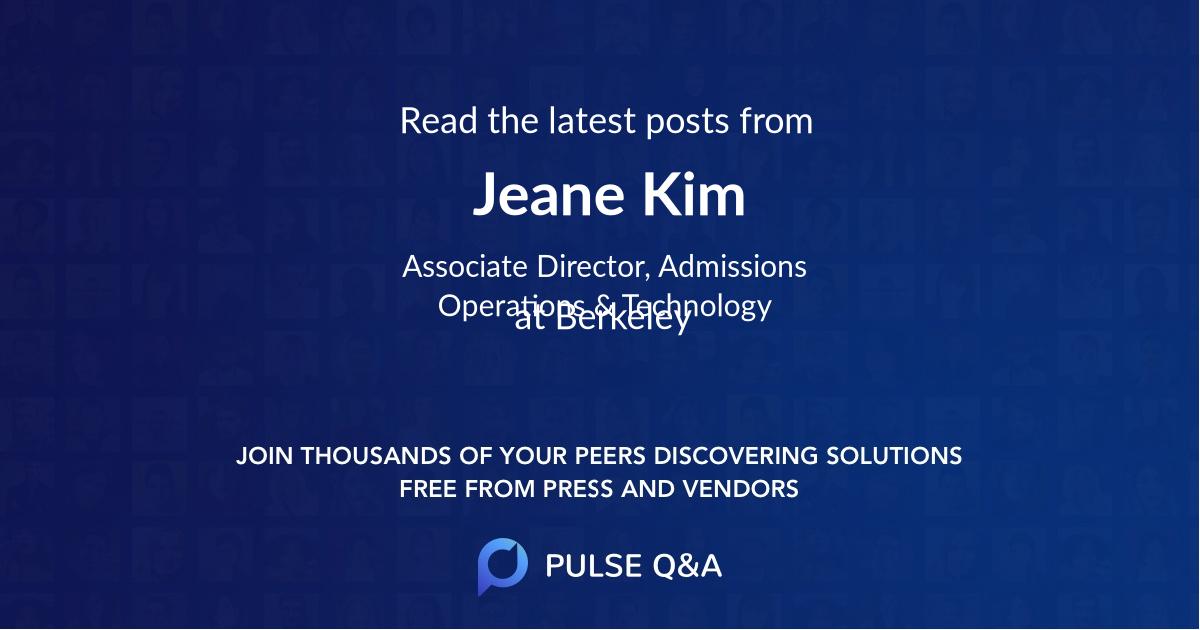Jeane Kim