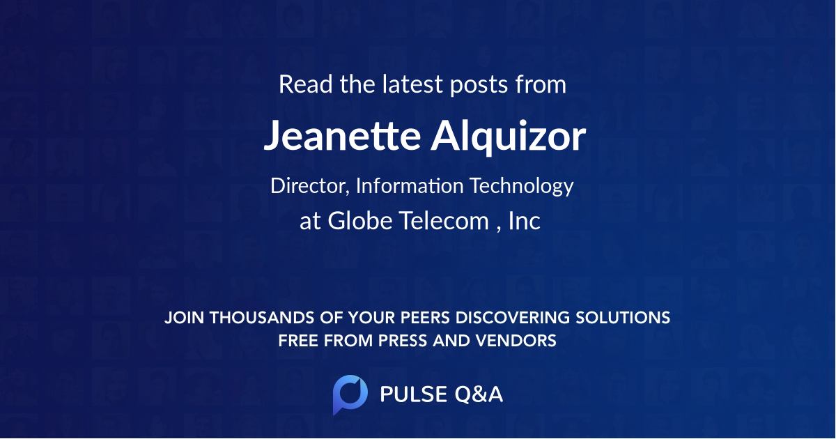 Jeanette Alquizor