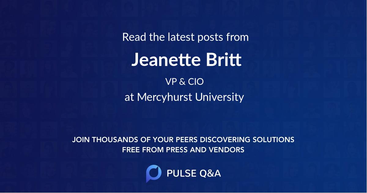 Jeanette Britt