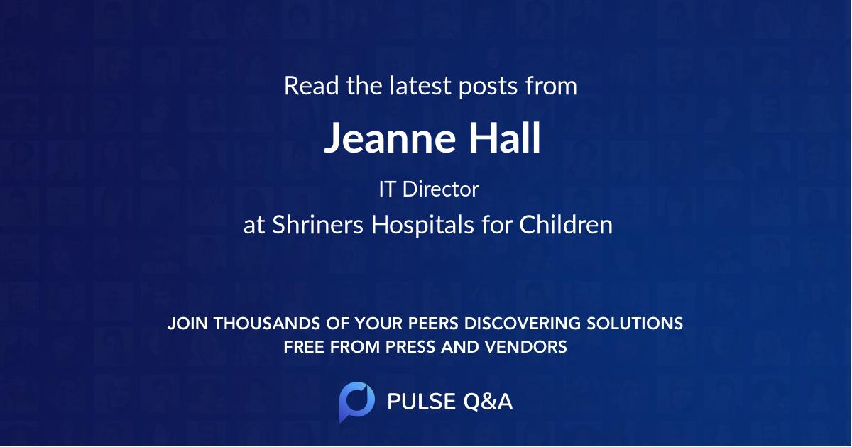 Jeanne Hall