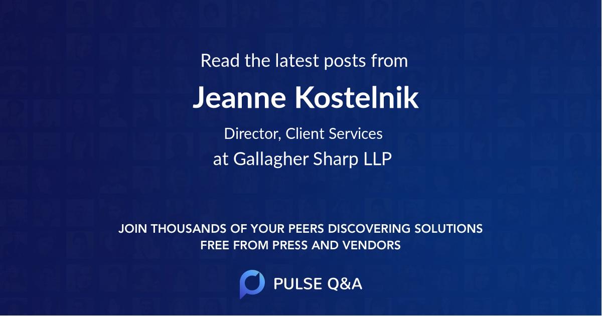 Jeanne Kostelnik