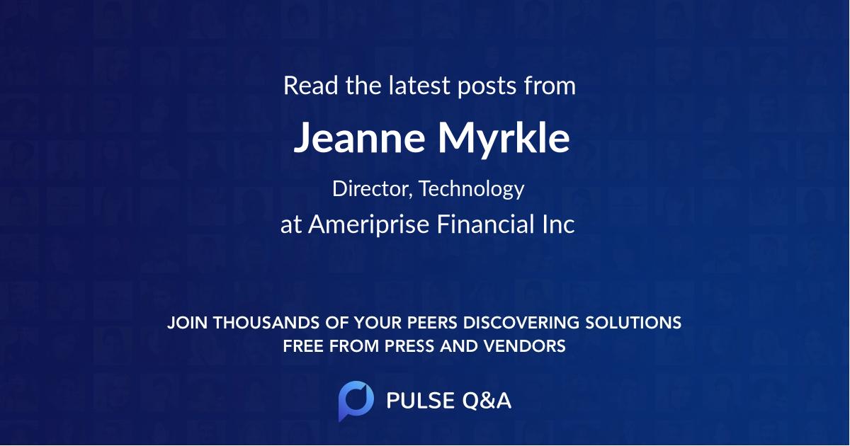 Jeanne Myrkle