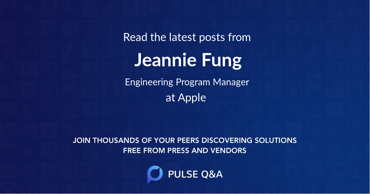 Jeannie Fung